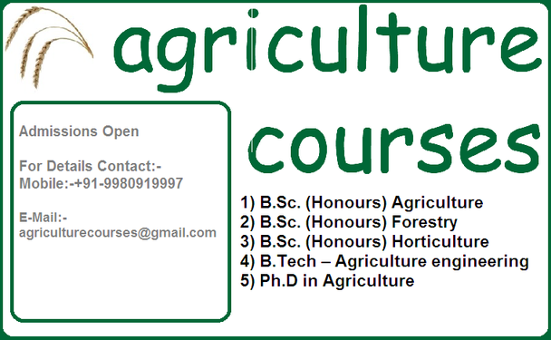 Agriculture 11 course