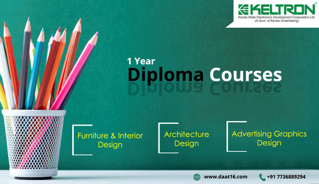 One Year Diploma Courses For Designing At Keltron