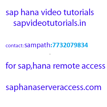 Sap Abap On Hana Training Videos And Online Access