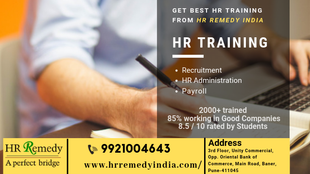 hr certification training - management course in baner pune - click.in