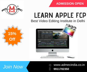 Learn Apple FCP From Best Video Editing Institute In Delhi