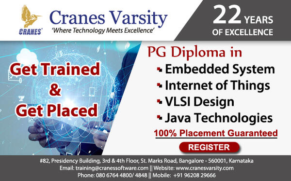 Job Assured Pg Diploma Training In Embedded Iot Vlsi Java Professional Course In Richmond Town Bangalore Click In