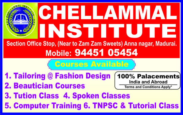 Beautician Fashion Designing Tailoring Course 9445105454 Beauty Culture And Hair Dressing Course In Annanagar Madurai Click In