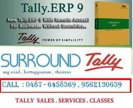 TALLY CUSTOMIZATION IN THRISSUR - 0487 -6458369 - Banking And