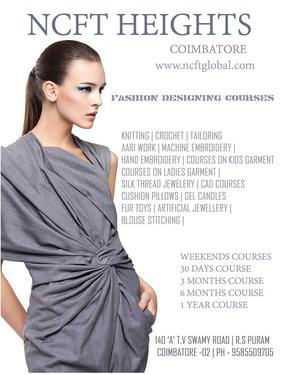 Fashion Designing Courses Professional Fashion Technology Course In R S Puram Coimbatore Click In