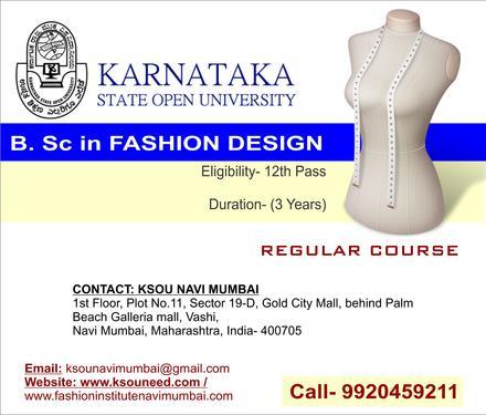Distance Education Navi Mumbai Vashi Ksou Fashion Technology Course In Vashi Mumbai Click In