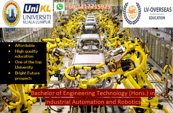Bachelor In Robotics In Malaysia Whatsapp 601117715929