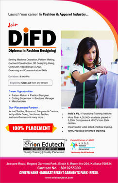 Diploma In Fashion Designing Fashion Technology Course In Barasat Kolkata Click In