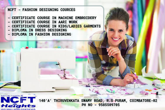 Fashion Designing Courses With Certificates Fashion Technology Course In R S Puram Coimbatore Click In