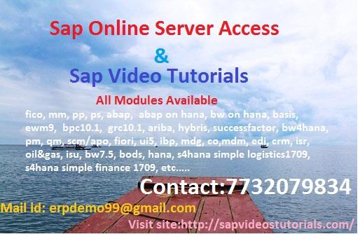 Sap Hana Admin Online Server Access - Professional Course In Agaram