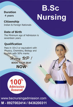 BSc-Post BSc Nursing Direct Admission @ 08927002414 - Health And