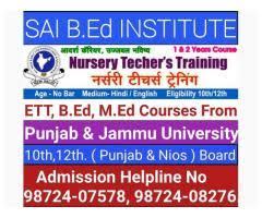 Nursery Teacher Training NTT College In Jalandhar - Teaching