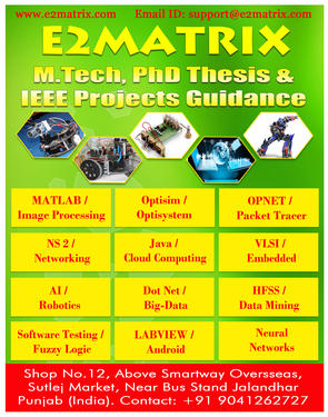 Dissertation for m tech computer science