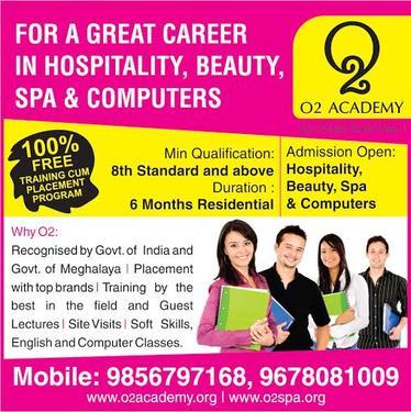 O2 Academy - Spa & Beauty Academy - Beauty Culture And Hair