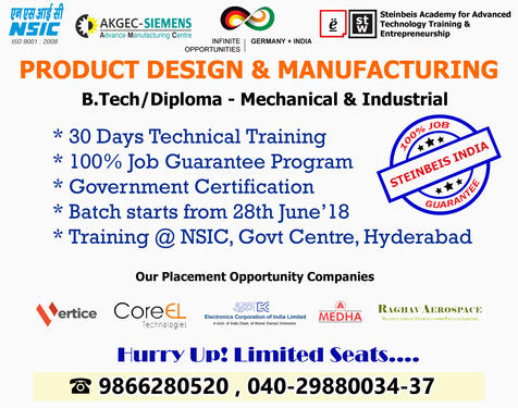 Product Design And Manufacturing Program For Mechanical Eng