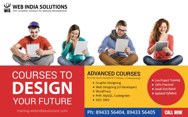 Advanced Course For Web Design Web Development Seo And Smo Professional Course In Vytilla Cochin Ernakulam Click In
