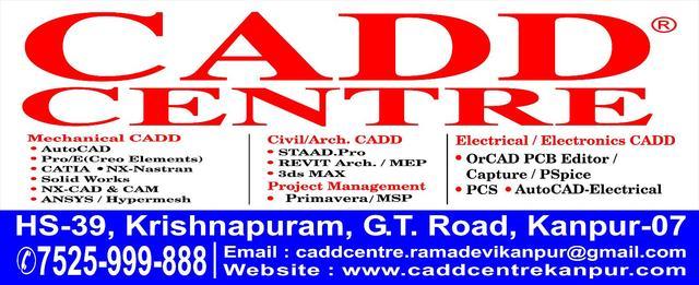Civil/Architectur/Interior CADD@CADD CENTRE,PAC Mod,Ramadevi