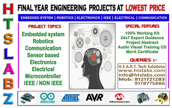 ELECTRONICS PROJECTS IDEAS FOR FINAL YEAR DIPLOMA / BTECH ...
