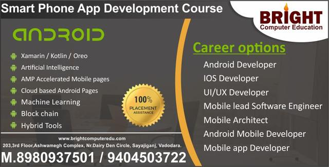 Android App Developing Is A Smart Carrer Move - Professional