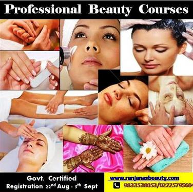 Govt Certified Professional Beauty & Hair Courses - Beauty