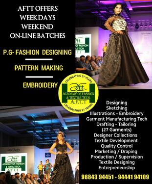 Fashion Designing Technology Apparel Manufacturing Course In Nungambakkam Chennai Click In