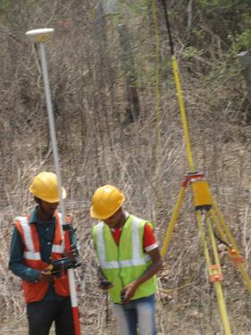 Land Survey Training(DGPS,Total Station & Auto Level