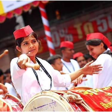 We Provide Female Dhol Tasha Group For Events 9699226918