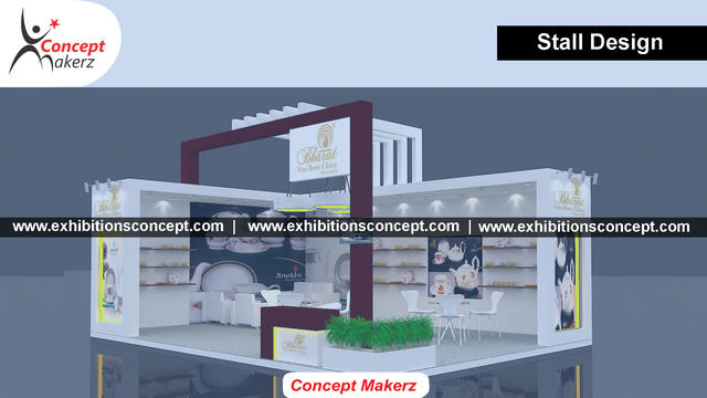 Exhibition Stall Material : Exhibition stall designer company in mumbai event services in