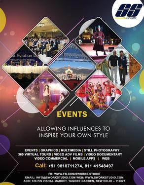 Event Management Poster Design