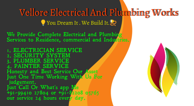 Electrical And Plumbing Contractor - Electronics & Appliances