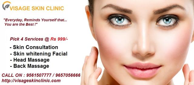 Pamper Your Skin With Fabulous Offer @ Visage Skin Clinic