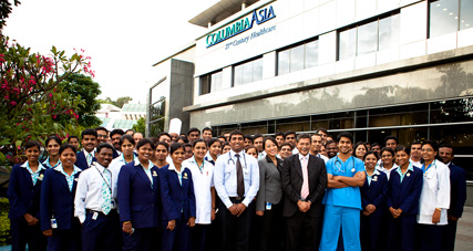 Columbia asia hospital hebbal images