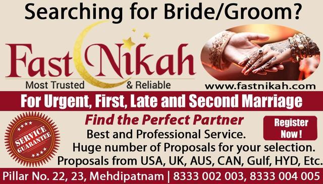 Fast Nikah Muslim Marriage Consultancy In Hyderabad