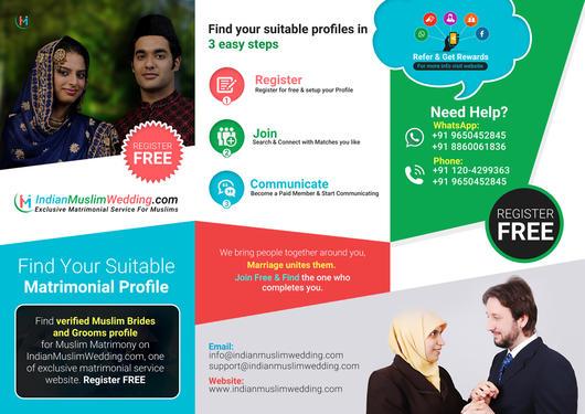 Muslim Matrimonial Sites - Wedding Planner In Delhi - Click in