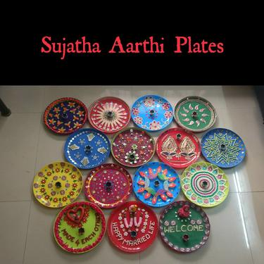 Sujatha Aarthi Plates For Rent - Wedding Planner In Chennai - Click.in