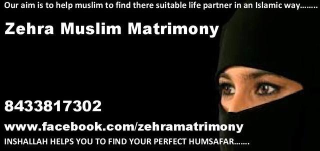 Zehra Muslim Matrimony, Muslim Wedding, Matrimony - Matrimonial