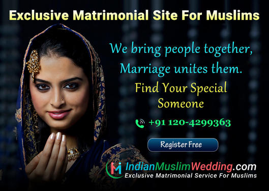 Exclusive Matrimonial Site For Muslim Matrimony - Wedding