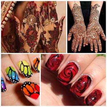 Special Mehandi And Nail Arts Mehendi Henna Nail In Warangal