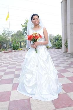 Christian bridal in delhi for Wedding dress on rent in delhi