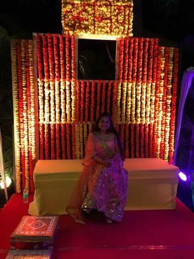 Mehndi Function Decoration Wedding Planner In Delhi Click In