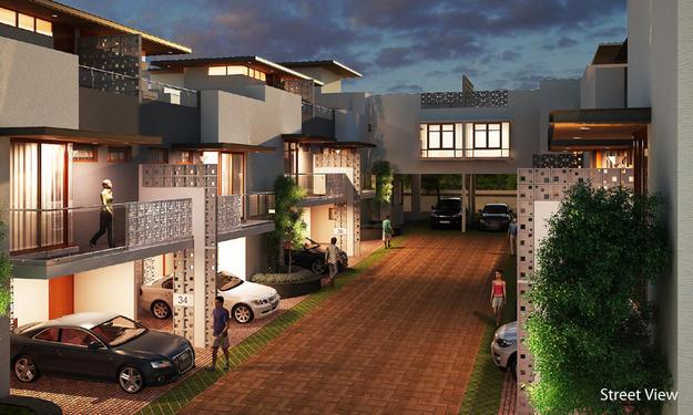 Mantri Courtyard - 3, 4 BHK Premium Row Villas On Sale - 3 Bedroom ...