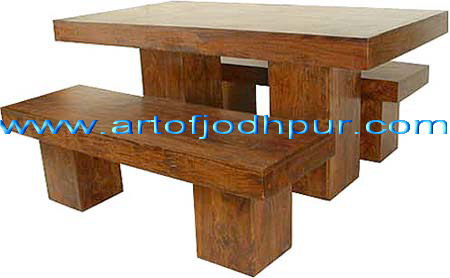 Wooden Sheesham Furniture Dining Set   Used Dining Table For Sale In  Dindori Road Nashik   Click.in