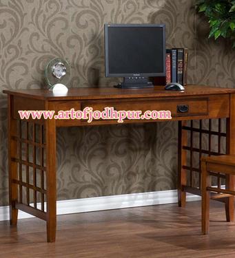 Online Furniture Sheesham Wood Study Table Used