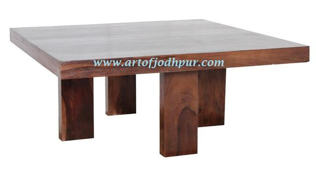 Furniture Online Center Tables Solid Wood Sheesham - Used ...