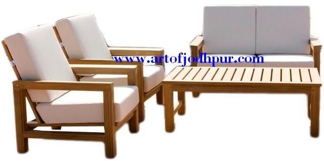 Solid Mango Wood Sofa Sets - Used Sofa For Sale In Akurdi ...