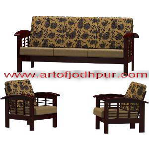 Pleasing 3 Pc Sofa Set Furniture Online Used Sofa For Sale In Dlf Download Free Architecture Designs Rallybritishbridgeorg