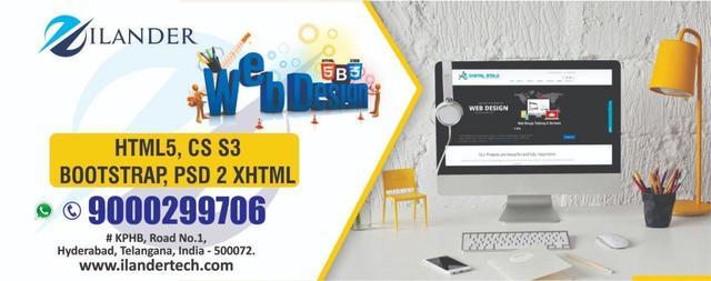 Ilander Web Designing Development Software Training In Hyd Software Training Course In Kphb Colony Hyderabad Secunderabad Click In