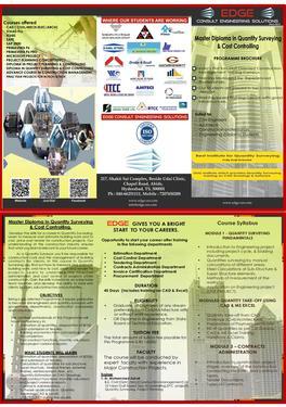 ETABS, SAP2000, PRIMAVERA P6, QUANTITY SURVEYING TRAINING