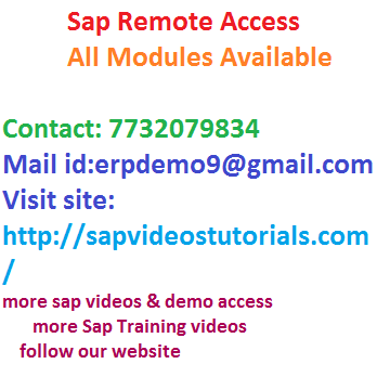 Sap Abap And Workflow Online Server Access - Software Training