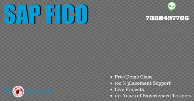 SAP FICO Training In Bangalore - Software Training Course In